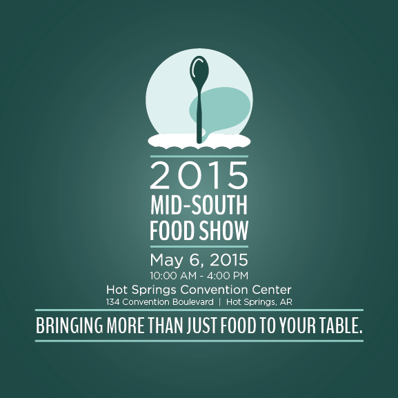 Photo of logo and brochure design for Ben E. Keith's 2015 Mid South Food Show