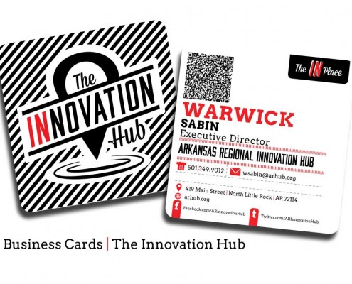 The Hub business cards