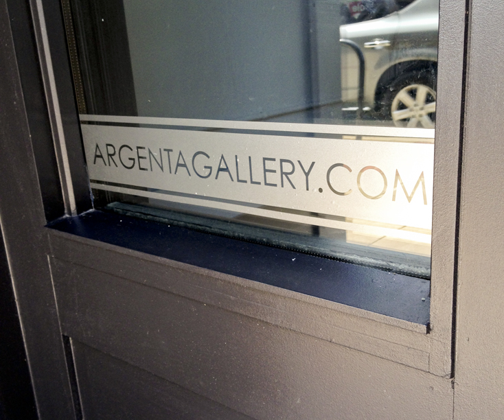 Frosted glass window graphics
