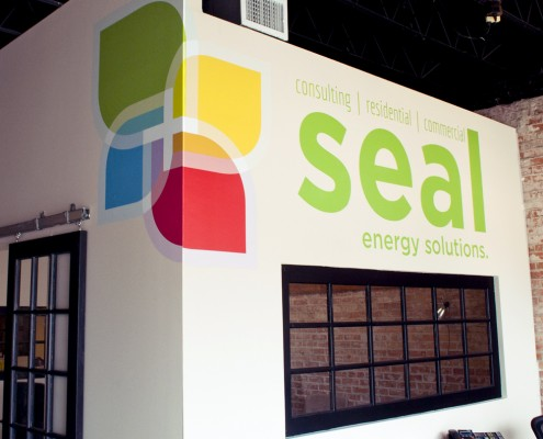 SEAL wall graphics