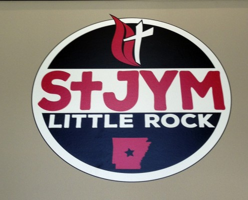St. Jym sign