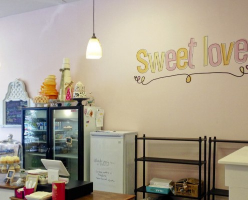 Sweet Love wall graphics