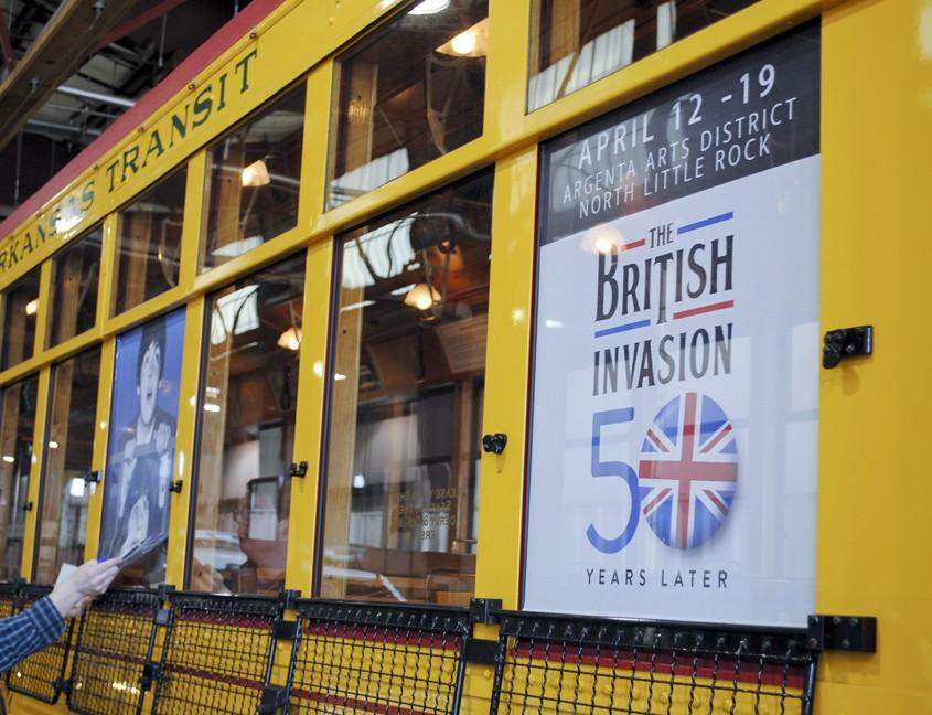 British Invasion window graphics