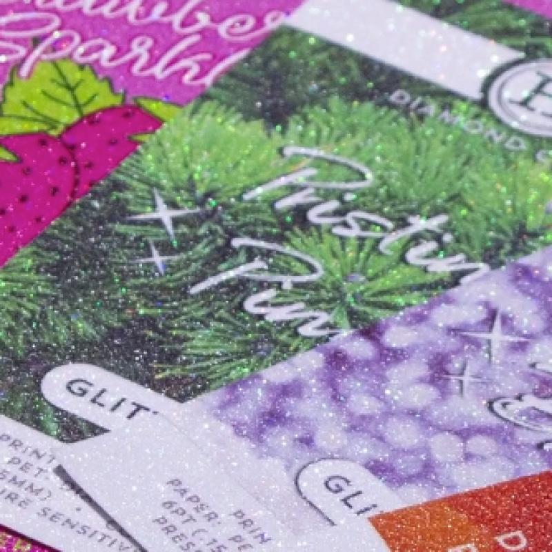 glitter paper thumbnail