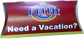 Ben E. Keith box lumpy mail